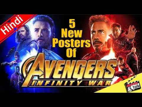 Avengers Infinity War 5 New Posters [Explained In Hindi]