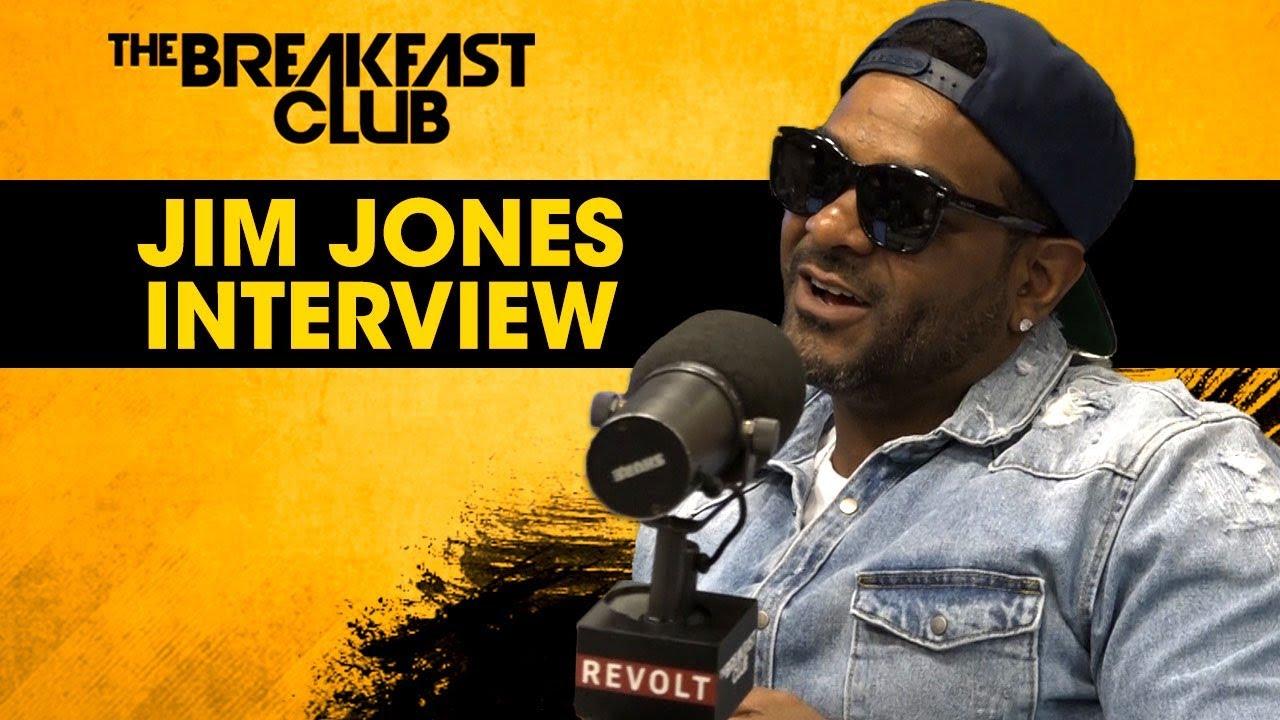 Jim Jones Talks Entrepreneurship, Dipset, 50 Cent + More