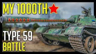 1000th Battle with Type 59, Oh God... ► World of Tanks Type 59 Gameplay