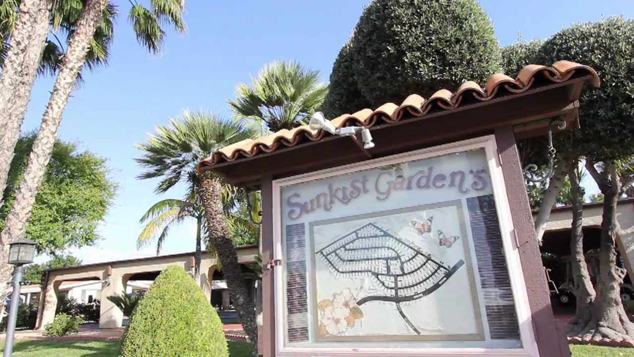 sunkist gardens mobile home park park profile youtube