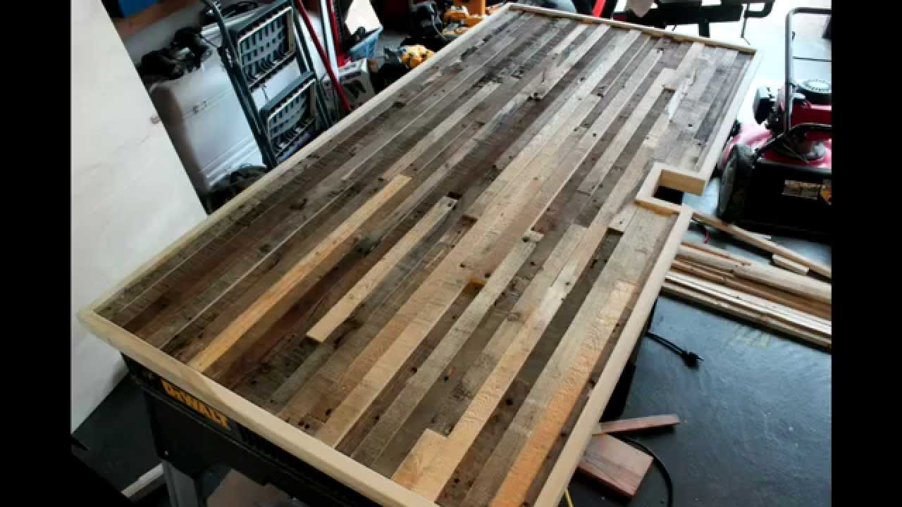 Sit stand desk scratch build part 2 youtube for How to build a wooden table from scratch