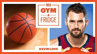 Kevin Love Shows His Home Gym and Fridge | Gym & Fridge | Men's Health