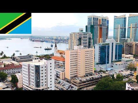 Tanzania Dar es Salaam city - street scenery, daily life, impressions 1