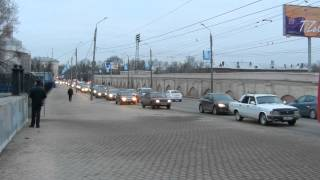 Перестроение в одну полосу. Часть 2. 05.03.2014. Старый мост.