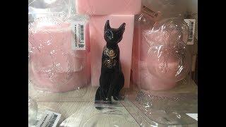 Обзор покупочек в Хобби ПейджПробная заливка египетской кошкиSoap