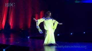 Egyptian Legend and Master Belly Dance Teacher Fifi Abdou Preforms as the BDC Gala dinner