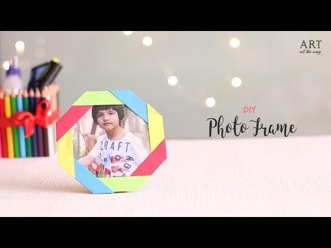 DIY Paper Photo Frame | Desk Decor Idea | Ventunoart