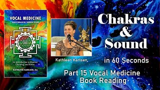 Chakras & Sound: Vocal Medicine Book Excerpt #15