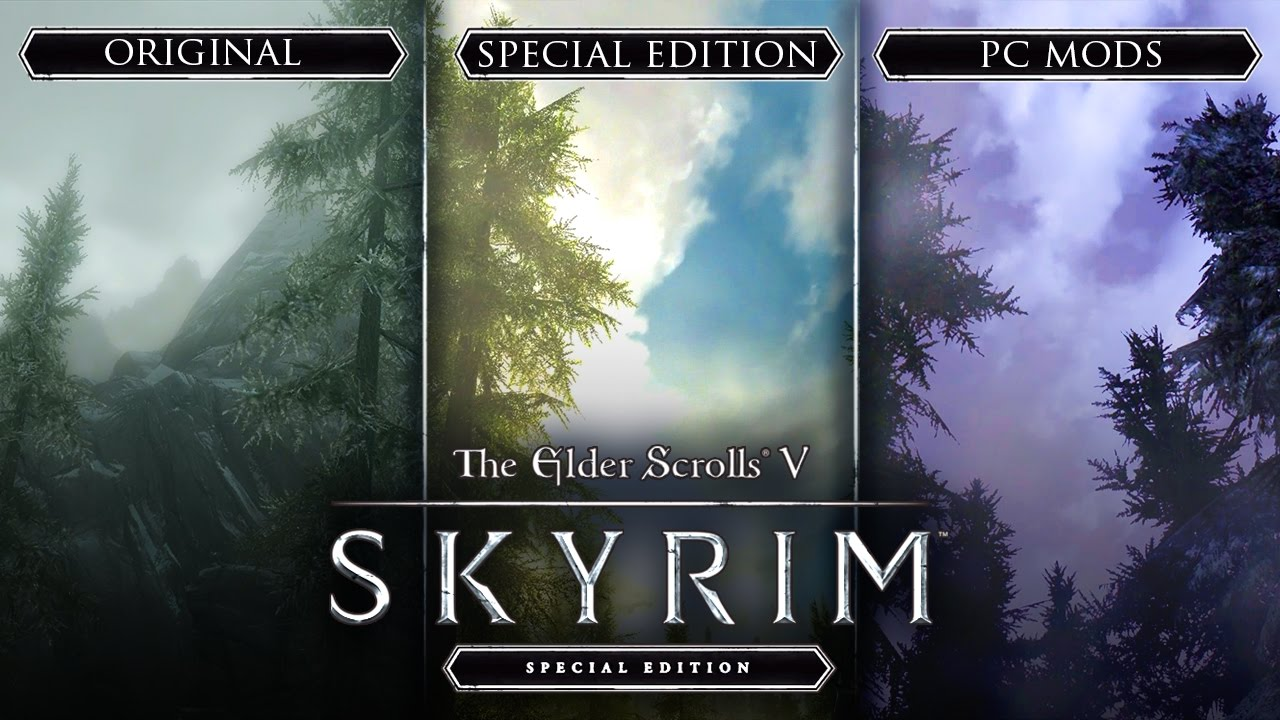 IS IT WORTH IT!? - Skyrim Special Edition PC vs  Xbox One vs  Xbox 360 vs   PC Mods!