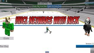 Roblox HHCL NetWars! HHCL NetWars with NickTL1. Roblox Hockey League NetWars!