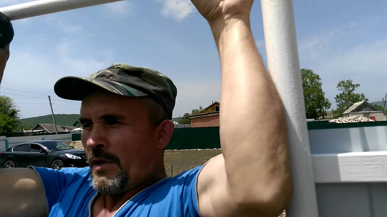 Летний душ из профнастила, сделанный своими руками за 10 000 руб. (часть1 )