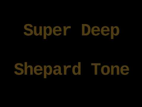 Super Deep Shepard Tone ( 12 Hours )