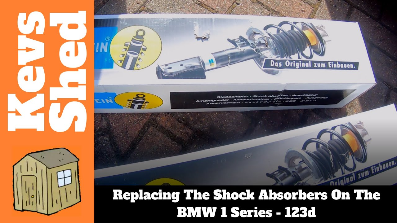 Bmw 1 Series Replacing The Shock Absorbers Youtube