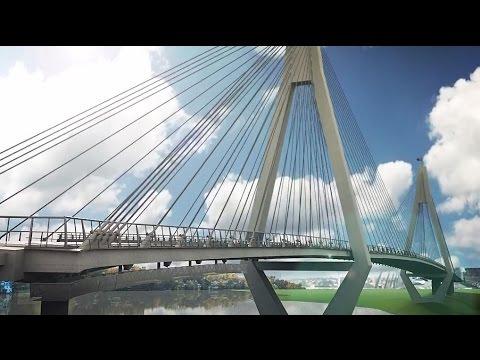 Anzac Bridge Maintenance Program 2011 - 3d visualisation