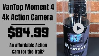 VanTop Moment 4 4k Action Camera | Can it be used on MTB trails?