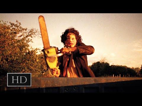 Техасская резня бензопилой (1974) - Кожаное лицо преследует Салли