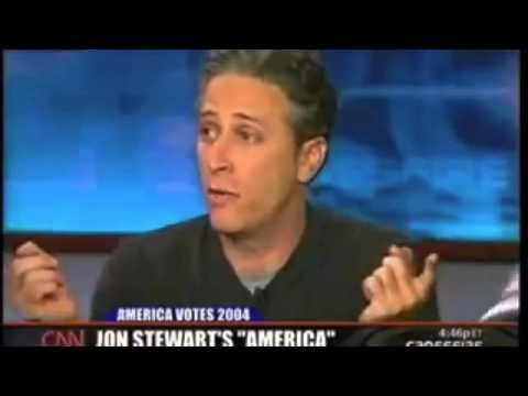 Failure of Media and Society/Sensationalism/Jon Stewart murdering Crossfire