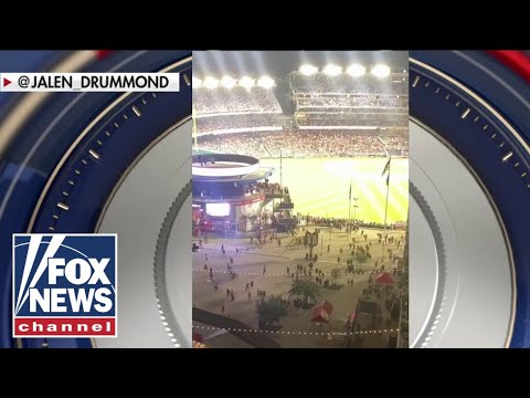 At least 2 people shot outside of Nationals baseball game in DC
