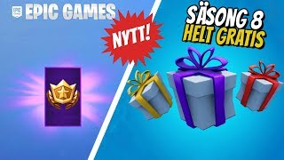HOW TO GET SEASON 8 BATTLE PASS * COMPLETELY FREE * IN FORTNITE