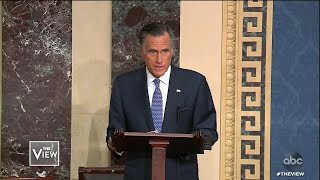 Romney Votes Against Party, Part 1 | The View