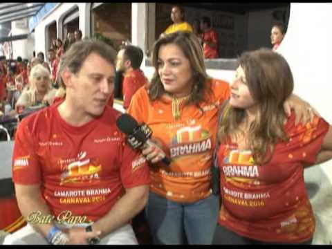 Paulo Goulart Filho e Vanessa Goulart - Carnaval 2014