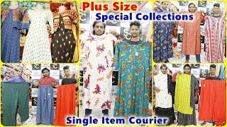 Plus Size Kurtis 5XL 4XL 3XL Sizes Available Single Dress Courier Available