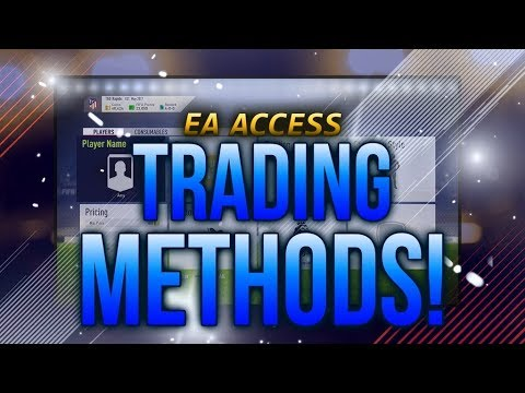 FIFA 18 - DOPE EA Access/Web App Trading Filters/Methods