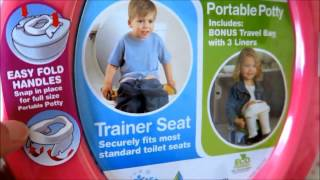 Kalencom 2-in-1 Potette Plus Review || POTTY Training TODDLER
