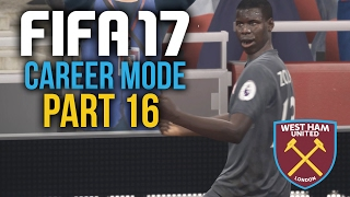 FIFA 17 Career Mode Gameplay Walkthrough Part 16 - THE DRAW MASTER (West Ham)