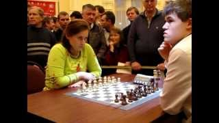 Polgar - Carlsen.2009 Tal Blitz (to be continue) VC00143