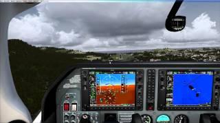 [FSX] vatsim VFR flight on caribbean islands