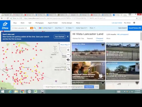 Land For Sale - Lake Los Angeles Stupid Cheap Price!