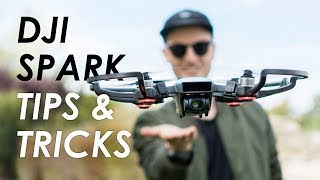DJI Spark Tips and Tricks (Cinematic Quickshot Mode and Gesture Control)