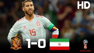 Spain vs Iran (1-0) - 2018 FIFA World Cup Russia- Highlights HD