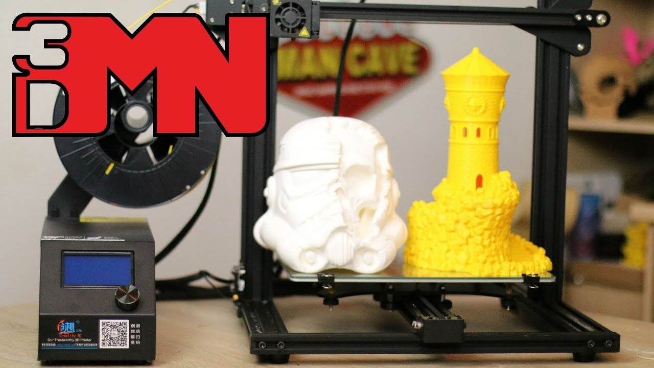 a noob s 3d printer review creality cr 10 mini youtube