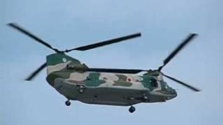 +http://okinawaslowlife.ti-da.net/ 自衛隊のヘリコプターCH-47チヌー...