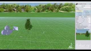 Урок — добавление камеры в проект и создание своего видеоролика в программе Realtime Landscaping