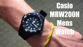 Casio Men's MRW200H-1BCT Watch