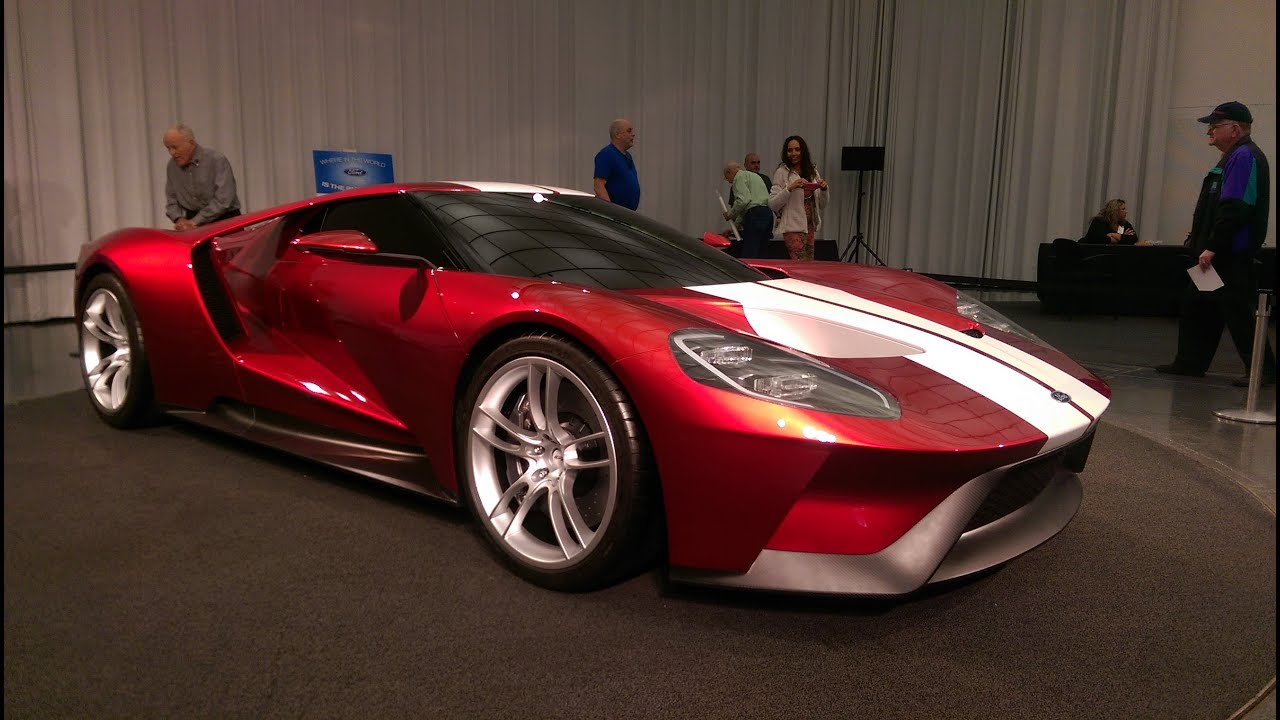 Exclusive never before seen new ford gt in red youtube