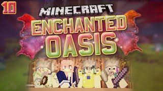 "Minecraft: Enchanted Oasis ""HORSES & HAVOC ):"" 9 Part 2"