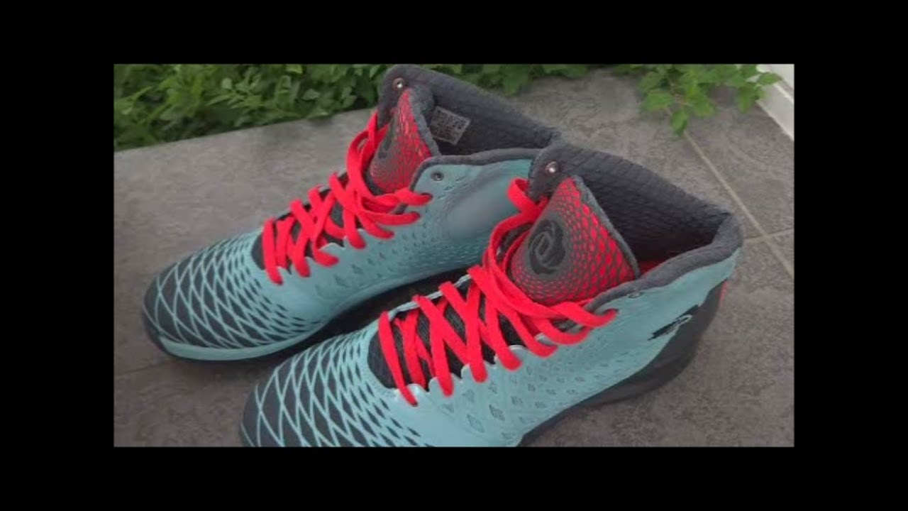 6302deed3e9d adidas D Rose 3.5 Mr. Chicago - Review - YouTube
