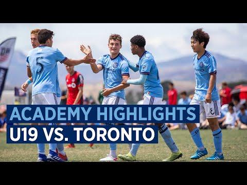BOYS ACADEMY HIGHLIGHTS | NYCFC U-19s vs. Toronto FC | 06.21.19
