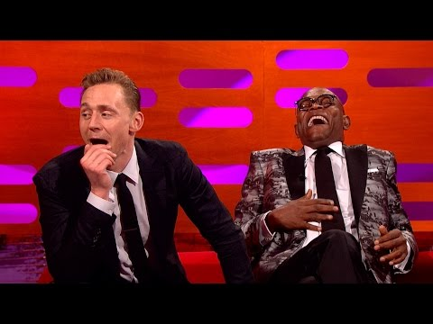 Tom Hiddleston's pole dancing fan art - The Graham Norton Show: Series 19 Episode 7 Preview - BBC