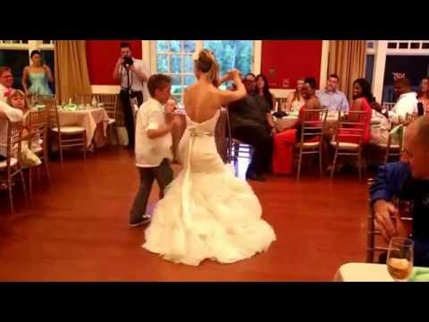 Epic Father/Daughter, Mother/Son hiphop mashup wedding dance!