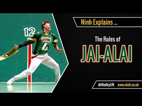 The Rules of Jai Alai - (Cesta Punta) - EXPLAINED!