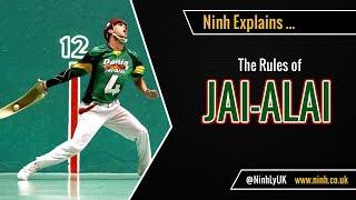 The Rules of Jai Alai - (Cesta Punta) - EXPLAINED!