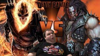 Death Battle Ghost Rider vs Lobo (Reaction)
