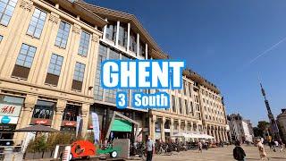 Ghent/Gent 2020 Belgium (South/Zuid)  🇧🇪 4K Walking Tour