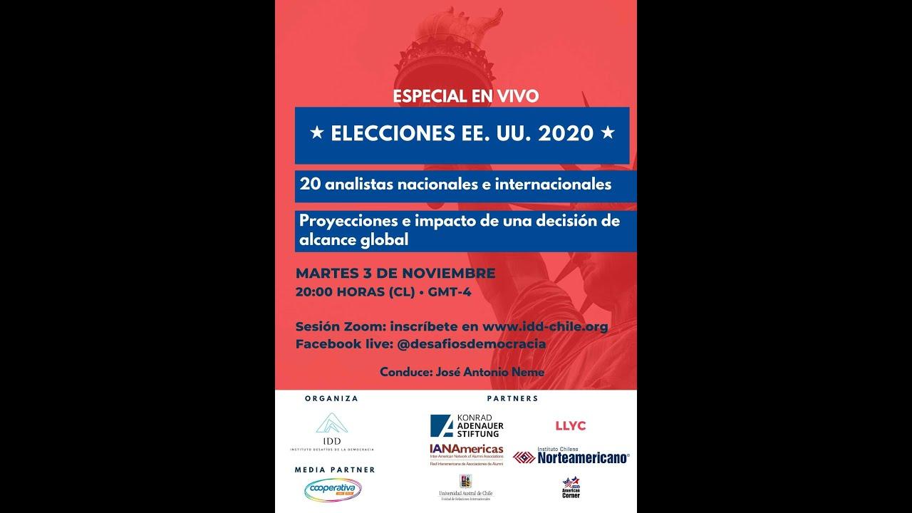IDD Evento Especial Análisis resultados de las Elecciones en Estados Unidos 2020