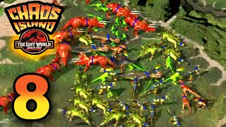 DINOSAUR ARMY! || Chaos Island - The Lost World PC [ Jurassic Park Month ]